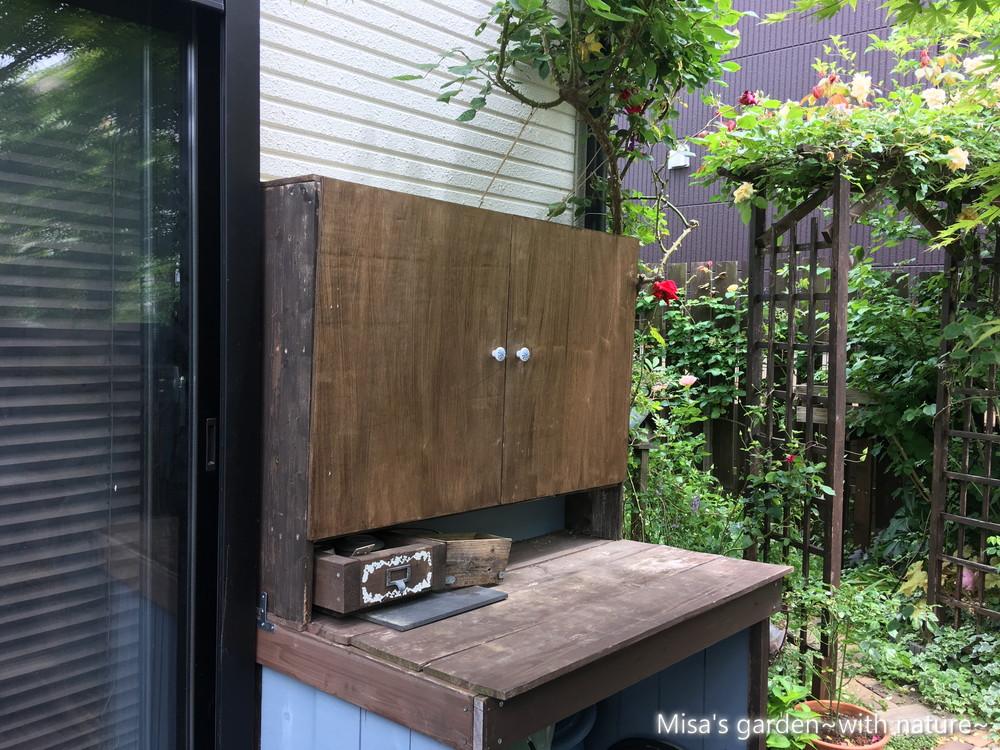 立水栓棚DIY